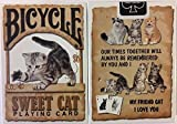 Sweet Cat Bicycle Playing Cards Poker Size Deck USPCC