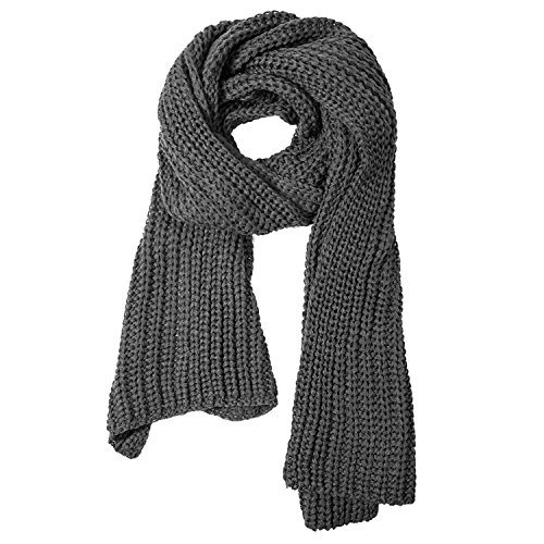 Thick Cable Knit - Aonal Womens Winter Thick Cable Knit Wrap Chunky Long Warm Scarf