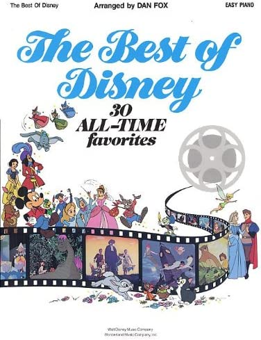 Hal Leonard The Best of Disney: Easy Piano. Partituras para Piano, Voz y Guitarra(Símbolos de los Acordes): Amazon.es: Electrónica