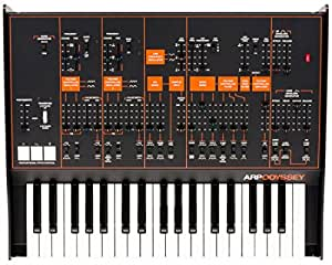 KORG ARP Odyssey FS Rev3 37-Keys Duophonic Analog Synthesizer - Black/Orange