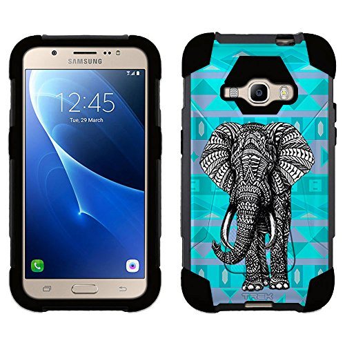 Samsung Galaxy Colorful Elephant Silicone product image