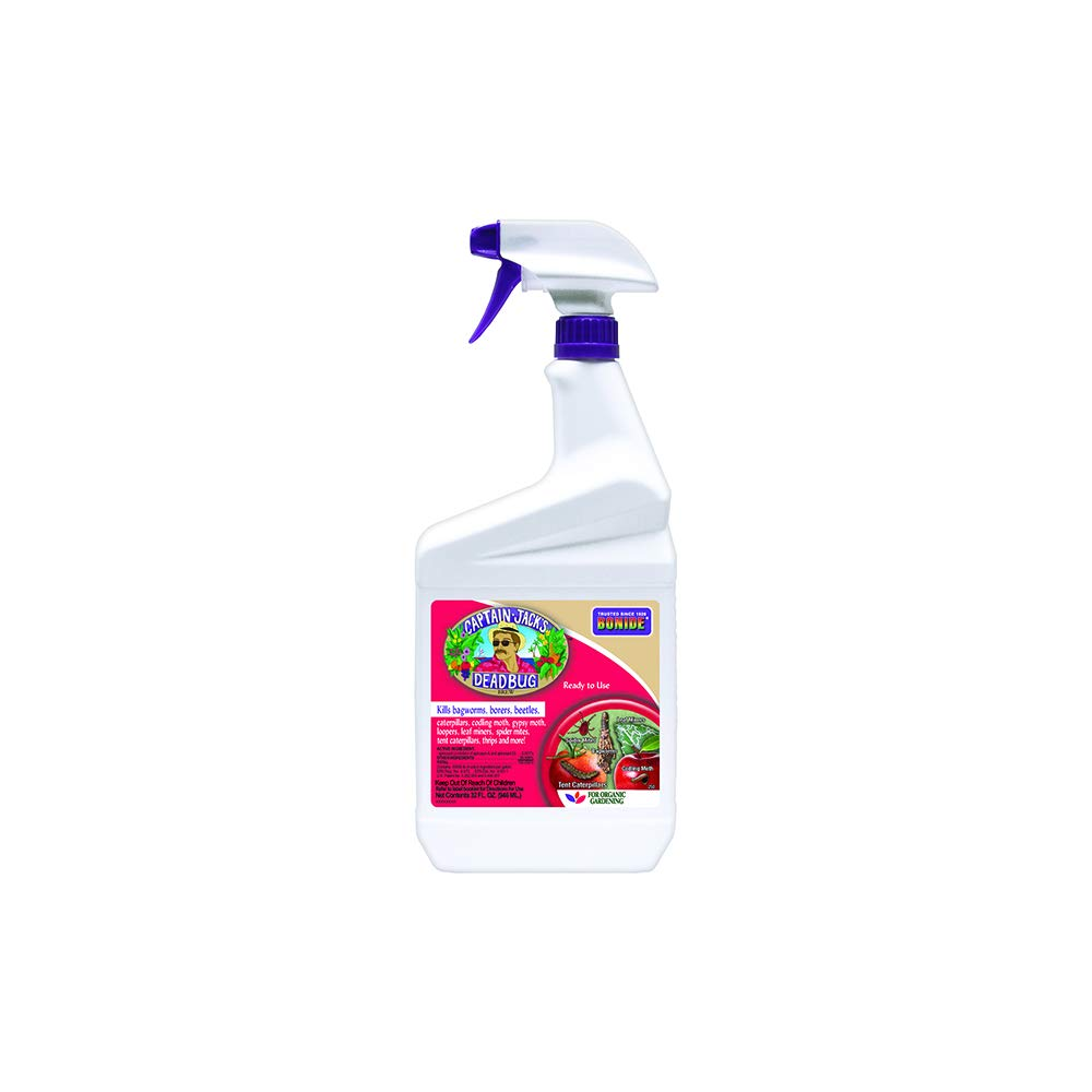 Bonide (BND250) - Captain Jack's Dead Bug Brew, Ready to Use Insecticide/Pesticide (32 oz.),natural