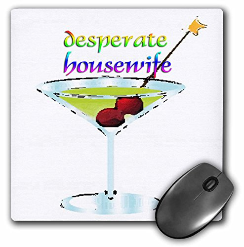 Price comparison product image 3dRose LLC 8 x 8 x 0.25 Inches Desperate Housewife Mouse Pad (mp_4346_1)