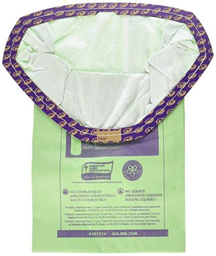 Proteam Replacement Bags Vacuums - ProTeam Paper Bag, 6Qt Super Coach Pro6 & Go Free 10 Pack