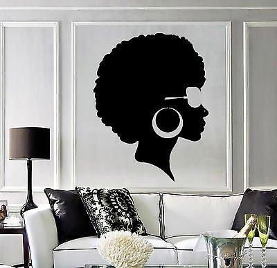 Vinyl Hairstyle Beauty Stickers Vs3803