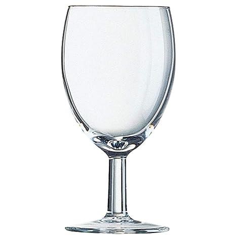 Paquete de: 48 Copas de vino Arcoroc Savoie 240ml marcadas CE a ...