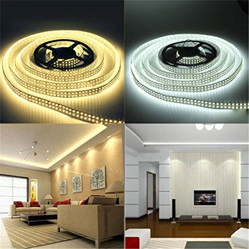 LED Lamp Clearance , 12V 5M SMD 3528 300LED Non Waterproof Flexible Warm Cool White Fairy Strip Light by Little Story (White)