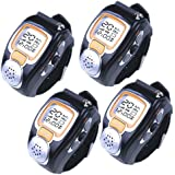 AGPtek Fashionable Wristwatch Walkie Talkie Spy Wrist Watch (4-pack)