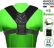 Ryggstärkande Hållningskorrigerare för män och kvinnor – Ryggstöd – Hållningsstöd - Justerbart ryggbälte för raka axlar -...