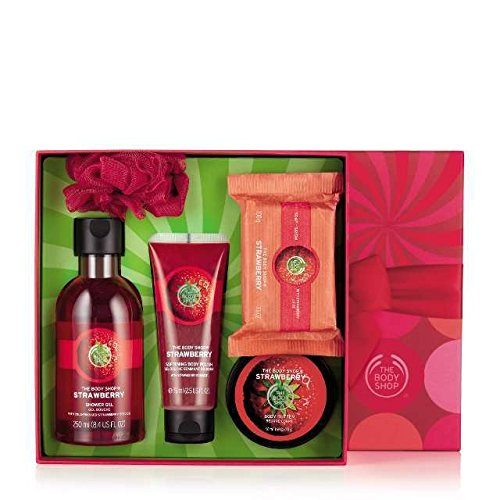 The Body Shop Strawberry Festive Picks Small Gift Set