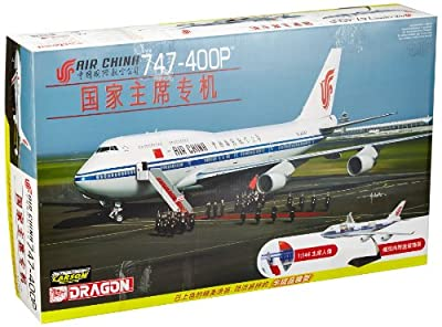 Dragon Models 1/144 Air China 747-400P with Cutaway Views and Pre-painted