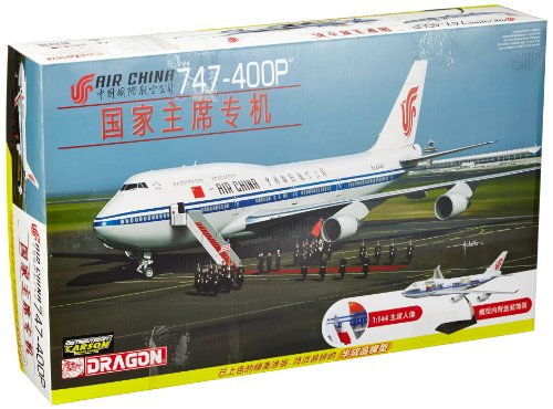 Dragon Airplane - Dragon Models 1/144 Air China 747-400P with Cutaway Views and Pre-painted
