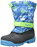 Hatley Boys' Winter Boots Dragons, Blue, 3