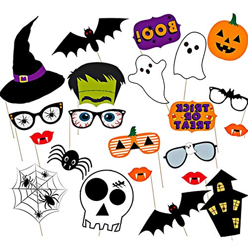 Halloween Photo Booth Props - Halloween Party Supplies