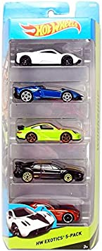 Hot Wheels, 2015 HW Workshop, HW Exotics 5-Pack [Version 2] by ...