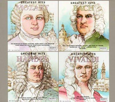 Ranking TOP4 Ranking TOP14 Mozart Bach Handel Vivaldi: Hits Greatest