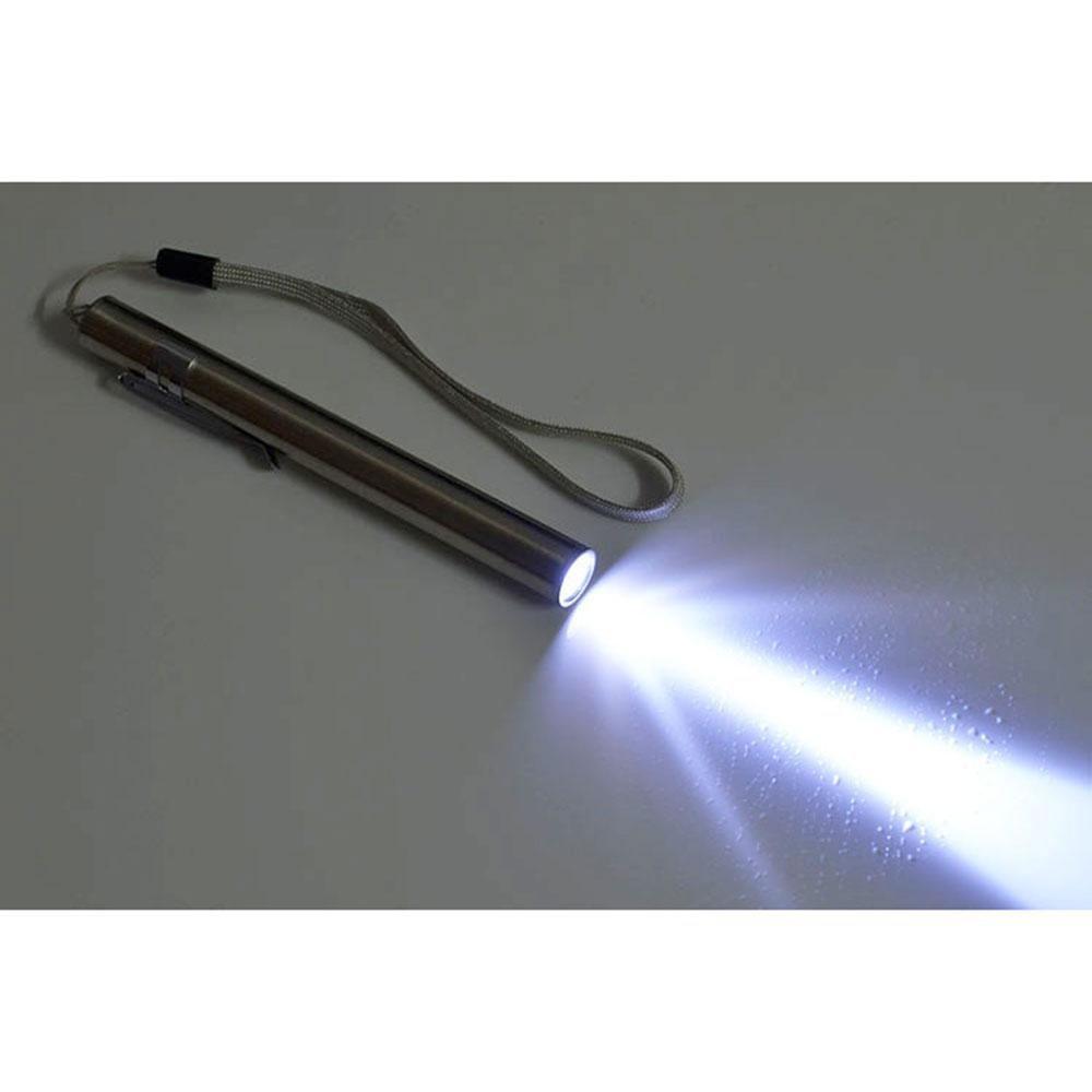Reutilizable Linterna Led Con Clip De Bolsillo,Port/átil Mini Linterna Medica Penlight