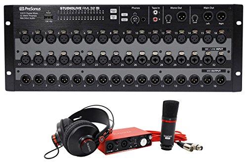 PRESONUS StudioLive RML32AI 32-Ch. Digital Mixer+Interface+Microphone+Headphones
