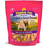 Kingdom Pets Premium Dog Treats, Chicken & Sweet Potato Jerky Twists, 48-Ounce Bag