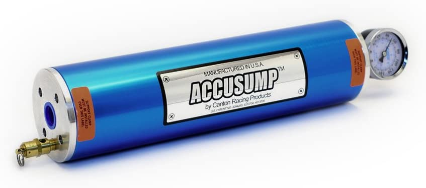 Canton Racing Products-Accusump Oil Accumulator-24-046