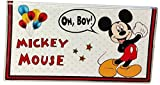 Mickey Mouse Checkbook Cover with Register & Photo Insert / Debit Card Holder