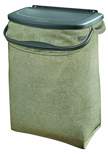 Rubbermaid Hidden Recycler Over-The-Door Under Cabinet Recycle Waste Bin Bag (Recycle Storage)