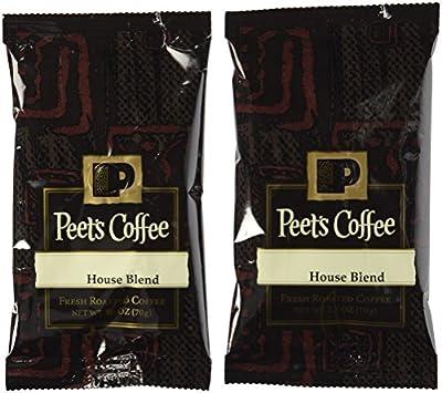 Peet's Coffee & Tea Sumatra Ground Coffee, 2.5-Ounce Fractional Packs (Pack of 18)