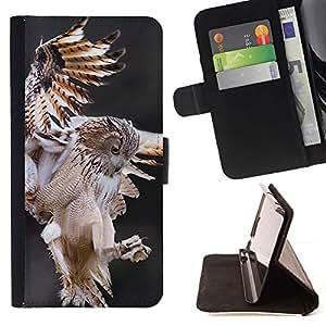 Momo Phone Case / Flip Funda de Cuero Case Cover - Vol Predator nature animale - LG G4c Curve H522Y (G4 MINI), NOT FOR LG G4