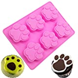 Dog Claw Silicone Cake Mold, KOOTIPS Soap Mold Ice Mold Silicone Cake Baking Mold Cake Pan Muffin Cups Handmade Soap Moulds DIY Tool