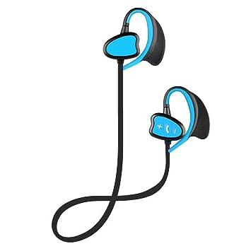 Docooler IPX8 Auriculares Impermeables de BT para Nadar Csr Auriculares estéreo inalámbricos con micrófono Deportes Bajos Que Ejecutan el Auricular: ...