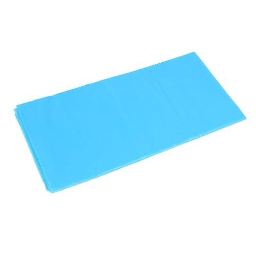 Dabxxxi Falda de Mesa de plástico de Color Sólido desechable para ...