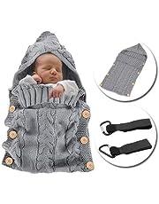 MikeCFMm - Saco de Dormir Unisex para Bebés Recién Nacidos, Ligero, Cálido, de