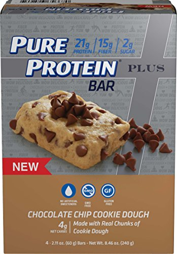 Pure Protein® PLUS Cookie Dough, 60 gram, 4 count Multipack