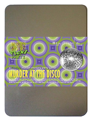 Murder Mystery Flexi Party Murder at The Disco 6-14 -
