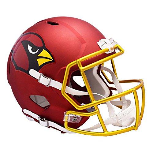 Arizona Cardinals Replica Helmet (Arizona Cardinals BLAZE Officially Licensed Speed Full Size Replica Football Helmet)