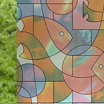 NRSP undurchsichtige Fenster Aufkleber Transparent Papier ...