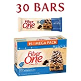 Fiber One Chewy Bars Oats and Chocolate, 30 Bars, (2x 15-Bar Mega Packs), 21.2 oz. (Pack of 2)