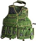 Warsensor Tactival Vest Elite Paintball Harness- Olive