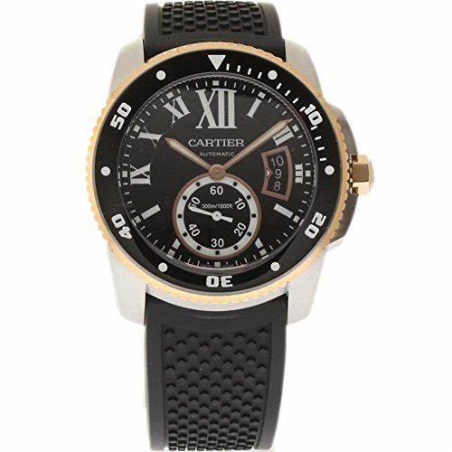 Cartier Calibre de Cartier swiss-automatic mens Watch W7100055 (Certified Pre-owned)