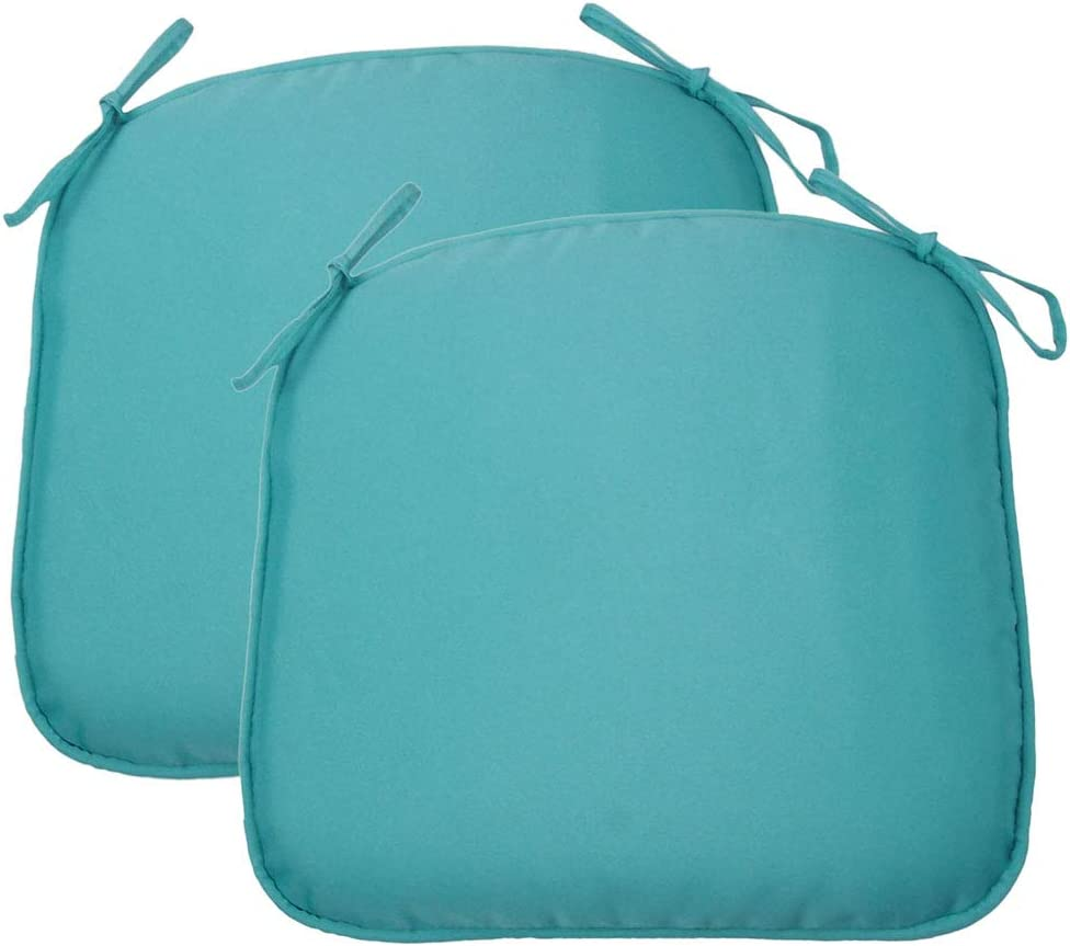 2 Pack Water Repellent Patio Chair Cushion Breathable 17