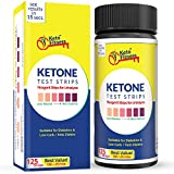 Keto Fitness Ketone Test Strips. Get Accurate Results in Seconds. Best for Ketogenic, Low-Carb, Paleo, Atkins Diet and Diabetics. Lose Weight Fast by Testing Ketosis Levels, 125 Urine Test Strips