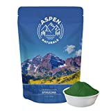 Pure Spirulina Powder California Grown – Nutrient Dense Vegan Superfood Powder to Increase Energy and Support Immunity – Add a Protein Boost to Shakes, Smoothies, Juice, and Drinks – Aspen Naturals