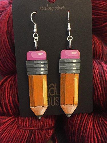 Pencil Earrings - Jewelry Pencil