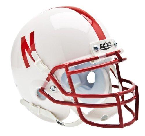 - Casey's Nebraska Huskers Schutt Mini Helmet