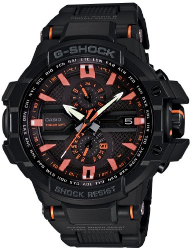 Casio G-SHOCK SKY-COCKPIT Triple G Resist TOUGH MVT. Solar Radio Controlled Multiband 6 Men's Watch GW-A1000FC-1A4JF (Japan Import)