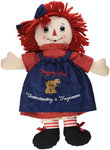 Aurora World Raggedy Ann Classic Doll, Multicolor, Large