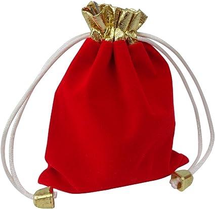 High Quality Soft Black 10cm X 12cm Velvet Jewellery Bags Drawstring Pouches