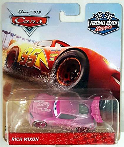 (Fireball Beach Disney Cars #36 Tank Coat Rich Mixon 1:55 Scale Diecast FWG33)