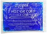 Cryopak Flexible 7.5-Inch by 10.25-Inch Hot & Cold Compress (Pack of 6)
