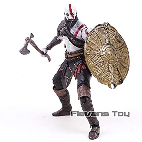 Amazon.com: God of War 4 Kratos 2018 New PVC Action Figure Collectible Model Toy: Toys & Games
